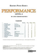 Bastien Piano Basics Performance Level 4 PDF