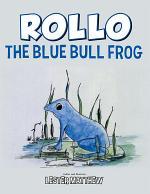 Rollo the Blue Bull Frog
