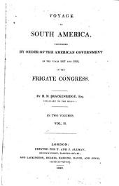Voyage to South America: Volume 2