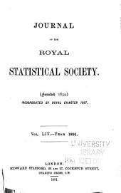 Journal of the Royal Statistical Society: Volume 54