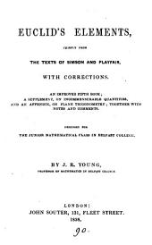 Euclid's Elements [book 1-6] with corrections, by J.R. Young