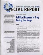 Political Progress in Iraq During the Surge