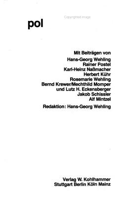 Regionale politische Kultur PDF