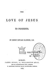 The Love of Jesus to Penitents