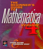 The Beginner s Guide to MATHEMATICA     Version 4 PDF