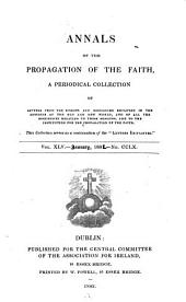 Annals of the Propagation of the Faith: Volume 45