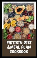 Pritikin Diet & Meal Plan Cookbook
