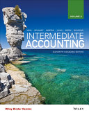 Intermediate Accounting  Eleventh Canadian Edition  Volume 2  Binder Ready Version