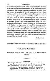 Bibliothèque universelle des sciences, belles-lettres, et arts: Sciences et arts, Volume49;Volume109