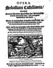 Tsamen-spreucken vande predestinatie: Volume 1