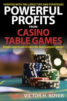 Powerful Profits From Casino Table Games PDF