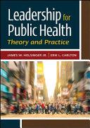 Leadership for Public Health PDF