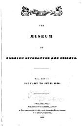The Museum of Foreign Literature, Science, and Art: Volume 28