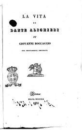 La vita di Dante Alighieri di Giovanni Boccaccio