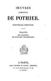Oeuvres complètes de Pothier: Volume12