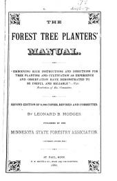 The Forest Tree Planters' Manual