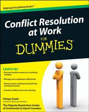 Conflict Resolution at Work For Dummies PDF