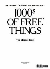 1000s of Free Thing