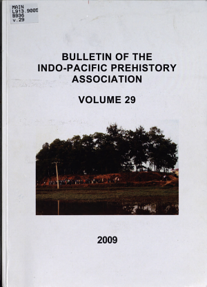 Bulletin of the Indo-Pacific Prehistory Association