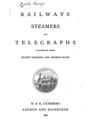 Railways, Steamers and Telegraphs