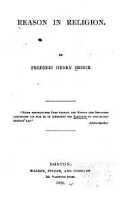 Reason in Religion PDF