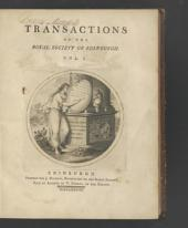 Transactions - The Royal Society of Edinburgh: Volume 1