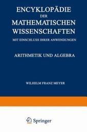Encyklopädie der Mathematischen Wissenschaften mit Einschluss ihrer Anwendungen: Dritter Band: Geometrie
