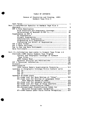 Census of Population and Housing  1980  United States  PDF
