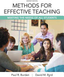 Methods for Effective Teaching  Meeting the Needs of All Students  Enhanced Pearson Etext with Loose Leaf Version    Access Card Package