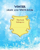 Winter Draw and Write Book