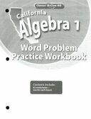 California Algebra 1 PDF