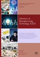 Advances in Manufacturing Technology XXXI PDF