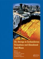 CO2 Storage in Carboniferous Formations and Abandoned Coal Mines PDF