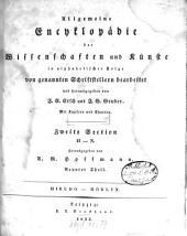 Allgemeine Encyklopädie der Wissenschaften und Künste: In alphabetischer Folge. ¬Section ¬2, H - N ; Theil 9, Hirudo - Höklyn