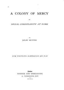 A Colony of Mercy PDF
