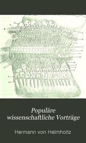 Populäre wissenschaftliche Vorträge: Bände 1-3