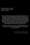 Beautiful Names of Prophet Muhammad  Peace Be Upon Him  in the Bible PDF