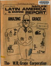 NACLA s Latin America   Empire Report