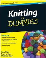 Knitting For Dummies, Enhanced Edition