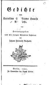 Gedichte von Karoline Christiane Louise Rudolphi