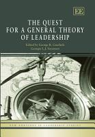 The Quest for a General Theory of Leadership PDF