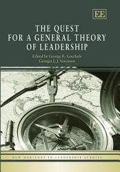 The Quest For A General Theory Of Leadership Book PDF