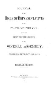 Journal of the House of Representatives of the State of Indiana