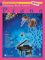 Alfred s Basic Piano Course  Top Hits  Christmas Book 4 PDF