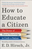 How to Educate a Citizen PDF