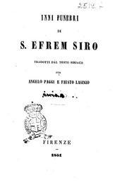 Inni funebri di S. Efrem Siro