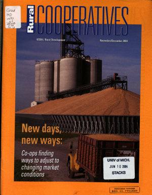 Rural Cooperatives PDF