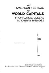 An American Festival of World Capitals PDF