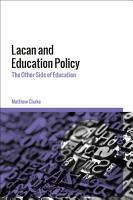 Lacan and Education Policy PDF