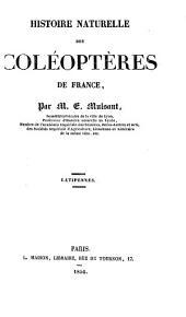 Histoire Naturelle des Coléoptères de France: Volume9